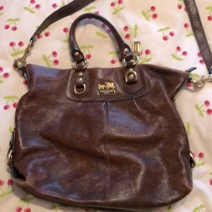 Brown Coach purse 👜
